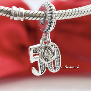 Pandora 50 Years of Love Dangle Clear CZ 797264CZ